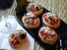 Mama Mia Artichoke and Tomato Bruschetta. Recipe by mrs.pin