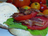 BLT With Smoked Bacon, Beefsteak Tomato, Arugula and Lemon Aioli. Recipe by Hey Jude