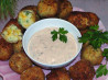 Potato Cheese Croquettes With a  Chipotle Sauce. Recipe by Rita~