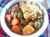Wintry Beef Vegetable Stew With Fluffy Herb Dumplings