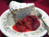 Pastiera With Strawberry Sauce -  Easter Ricotta Cake
