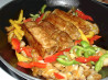 Ancho Pork Chops and Peppers. Recipe by Julesong