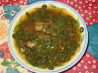 Korean Spinach Soup. Recipe by Mercy