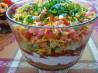 5-Layer Mexican Dip or Nachos Supreme. Recipe by BecR