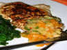 Grilled Chicken Breasts With Mandarin Orange Salsa. Recipe by Marie