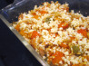 Barley, Turkey and Butternut Squash Casserole. Recipe by Dancer^