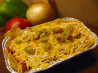 Tex-Mex Chicken Lasagna. Recipe by Caroline Cooks