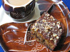 South African Brandy Squares. Recipe by Olha