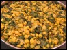 Chana Dal (Yellow Lentils) With Spinach. Recipe by eatrealfood