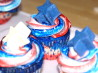Patriotic 4th of July Cupcakes