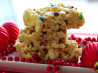 Marshmallow Crisp (Microwave Rice Krispies Squares). Recipe by Lennie