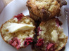 Raspberry Streusel Muffins. Recipe by Bec