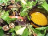 Mixed Greens' Salad With Apples and Maple-Walnut Oil Dressing. Recipe by Cookgirl