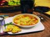 Healthy Tomato-Tortellini Soup. Recipe by Caroline Cooks