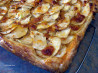 Cheddar Crust  Apple Tart. Recipe by Derf