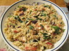 Quick Greek Spinach and Chicken Orzo. Recipe by Muffin Goddess