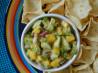 Easy Mango & Avocado Salsa. Recipe by Rachie P