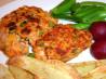Deluxe Salmon Burger