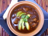 Pork & Hominy in Red Chiles Soup/Stew. Recipe by justcallmetoni