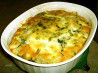 Impossible Greek Spinach Pie. Recipe by Mirj