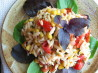 Orzo Salad With Basil-Sherry Vinaigrette. Recipe by Impera_Magna