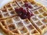 Our Favourite Belgian Waffles. Recipe by Maïté G.