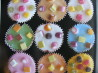 Dolly Mixture Cupcakes. Recipe by Perfect Pixie
