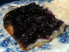 Blueberry Upside Down Cake -- Pouding Aux Bleuets. Recipe by Elmotoo
