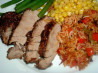 Island Pork Tenderloin (Optional Salad)