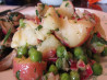 Herbed Potato Salad With Bacon and Peas. Recipe by Lvs2Cook