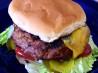 Cheddar Cheese, Pretzel, Beer & Beef Hamburgers. Recipe by Rita~