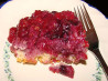Blue-Raspberry Pudding Cake. Recipe by KelBel