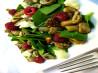 Warm Mushroom and Spinach Salad. Recipe by Sage