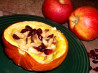 Squash With Apples & Cranberries. Recipe by Bergy