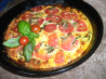 Crustless tomato Quiche