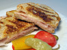 Grilled Turkey and Provolone on Garlic & Herb Bread. Recipe by starviolet