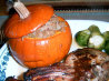 Stuffed Thanksgiving Pumpkins  (Diabetic Friendly). Recipe by Annacia