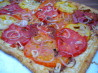 Heirloom Tomato Tart. Recipe by cookiedog