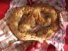 Cheddar Cheese Pretzel Bread. Recipe by Calee