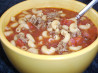 Pantry Tomato Beef Soup. Recipe by Recipe Reader