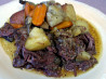 Fallin' to Pieces Pot Roast With Carrots and Potatoes