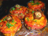 Chimney Stacks -  Savoury Sausage Stuffed Mushrooms!. Recipe by French Tart