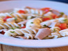 Creamy Pasta Salad With Tuna and Vegetables (Low Fat). Recipe by Cookin-jo