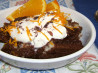 Chocolate Orange Soufflé Bread Pudding