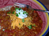 Lentil Chili With Chunky Vegetables
