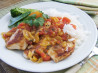Chicken With Apricot Salsa. Recipe by Sydney Mike
