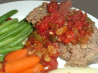 Middle East Lamb Meatloaf - From the New York Times Magazine of February 3, 1991. Recipe by Mark Marcarian