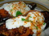 Hot Stuff! Cypriot Stuffed Aubergines and Minty Cumin Yoghurt