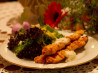 Shish Taouk Toum - Grilled / BBQ Chicken With Garlic Sauce