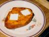 Twice-Baked Sweet Potato (For One). Recipe by Bone Man